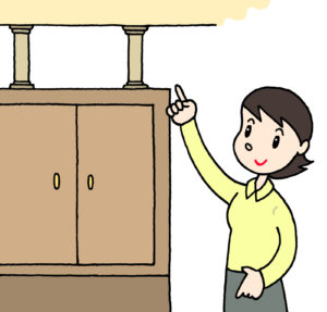 家具の転倒防止