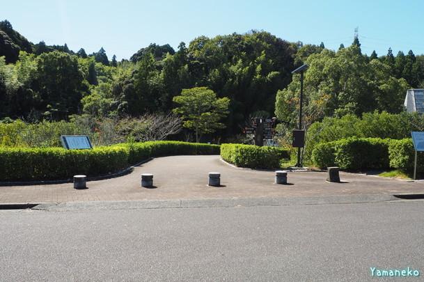 油田の里公園の入り口