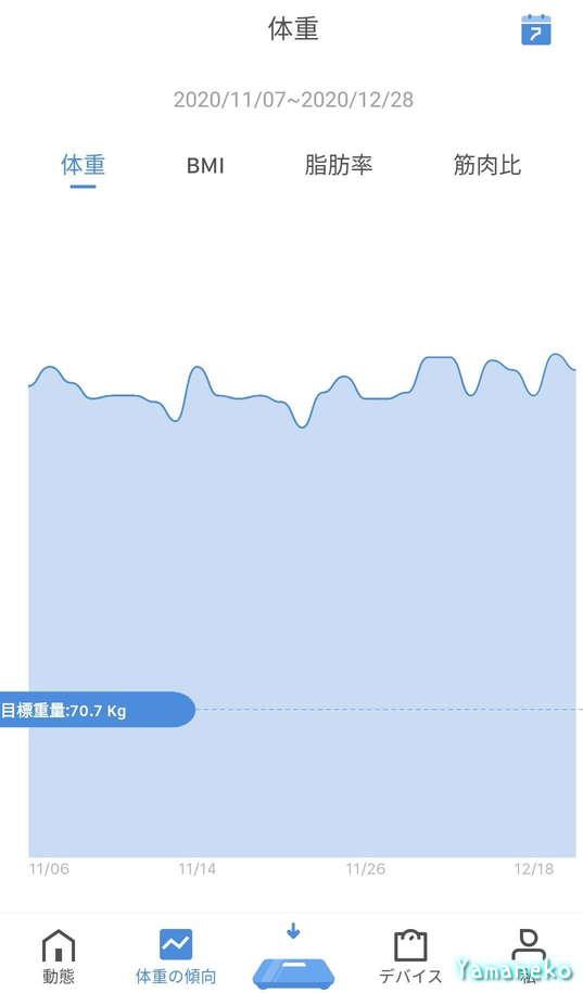 体組成計グラフ